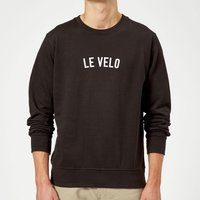 Le Velo Sweatshirt - M - Black