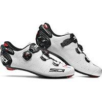Sidi Wire 2 Carbon Air Road Shoes - White/Black - EU 46 - White/Black