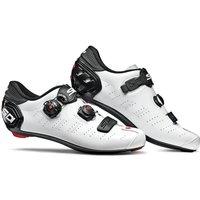 Sidi Ergo 5 Road Shoes - White/Black - EU 46 - White/Black