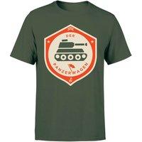 Der Panzerwagen Men's T-Shirt - XXL - Forest Green