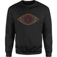 Celebrity Big Brother Eye Sweatshirt - Black - 5XL - Black - Brother Gifts