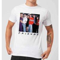 Friends Cast Pose Mens T-Shirt - White - L - White