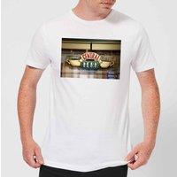 Friends Central Perk Coffee Sign Men's T-Shirt - White - M - White