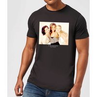 Friends Girls Mens T-Shirt - Black - L - Black