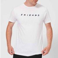 Friends Logo Men's T-Shirt - White - S - White