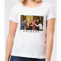 Friends Cast Shot Women's T-Shirt - White - XXL