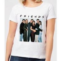 Friends Group Shot Women's T-Shirt - White - 3XL - White