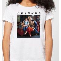 Friends Classic Character Women's T-Shirt - White - L - White