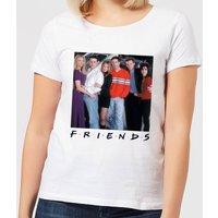 Friends Cast Pose Women's T-Shirt - White - M - White