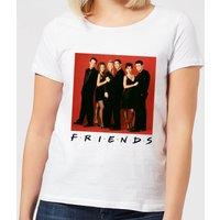 Friends Character Pose Women's T-Shirt - White - XL - White
