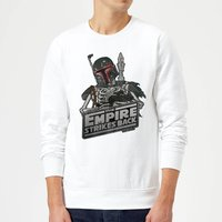 Star Wars Boba Fett Skeleton Sweatshirt - White - XL - White