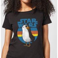Star Wars Porg Women's T-Shirt - Black - S - Black