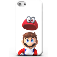 Nintendo Super Mario Odyssey Mario And Cappy Phone Case for iPhone and Android - Samsung S6 Edge - S