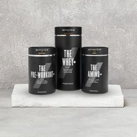 Myprotein THE PhaseTech Bundle - Tropical - Sour Gummy - Chocolate Brownie