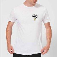 Smiley World Magic Time Men's T-Shirt - White - XXL - White - Smiley Gifts