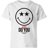 Smiley World Slogan Just Do You Kids' T-Shirt - White - 11-12 Years - Smiley Gifts