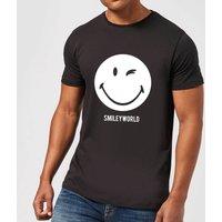 Smiley World Large Smiley Men's T-Shirt - Black - XXL - Black - Smiley Gifts