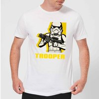 Star Wars Rebels Trooper Mens T-Shirt - White - M - White
