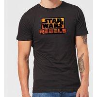Star Wars Rebels Logo Men's T-Shirt - Black - XL - Black