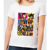 Star Wars Rebels Comic Strip Women's T-Shirt - White - 5XL - White