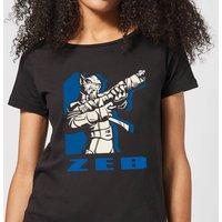 Star Wars Rebels Zeb Women's T-Shirt - Black - S - Black