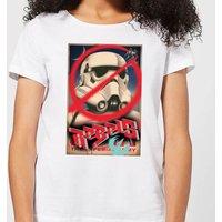 Star Wars Rebels Poster Women's T-Shirt - White - XXL