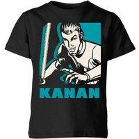 Star Wars Rebels Kanan Kids' T-Shirt - Black - 9-10 Years - Black