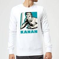 Star Wars Rebels Kanan Sweatshirt - White - L - White