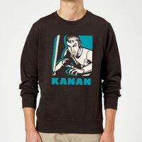 Star Wars Rebels Kanan Sweatshirt - Black - XL - Black