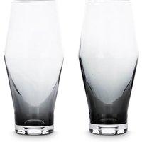 Tom Dixon Tank Beer Glass x2 - Black