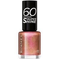 Rimmel 60 Seconds Glitter Nail Polish - Fab