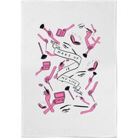 Rock On Ruby Makeup Is My Life Cotton Tea Towel - Makeup Gifts