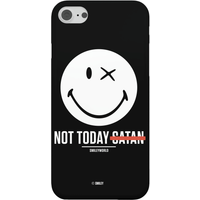 Smiley World Slogan Not Today Satan Phone Case for iPhone and Android - iPhone 6 - Snap Case - Matte