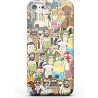 Rick and Morty Interdimentional TV Characters Phone Case for iPhone and Android - Samsung S7 - Snap