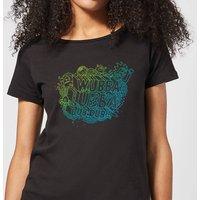 Rick and Morty Wubba Lubba Dub Dub Women's T-Shirt - Black - L - Black