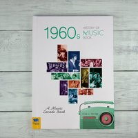 1960s History of Music - Hardback - Books Gifts