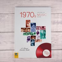 1970s History of Music - Hardback - Books Gifts