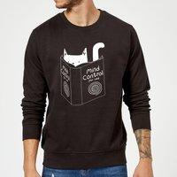 Tobias Fonseca Mind Control for Cats Sweatshirt - Black - M - Black