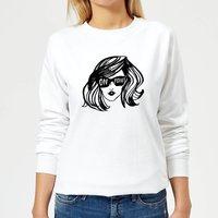 Rock On Ruby On Point Women's Sweatshirt - White - XL - White