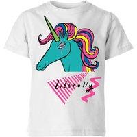 Rock On Ruby Literally Kids' T-Shirt - White - 3-4 Years - White
