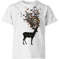 Tobias Fonseca Wild Nature Kids' T-Shirt - White - 5-6 Years - White