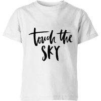 PlanetA444 Touch The Sky Kids' T-Shirt - White - 5-6 Years - White