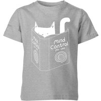 Tobias Fonseca Mind Control for Cats Kids' T-Shirt - Grey - 3-4 Years - Grey