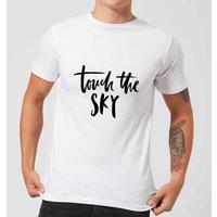 PlanetA444 Touch The Sky Men's T-Shirt - White - L - White