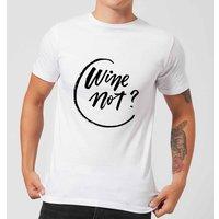 PlanetA444 Wine Not? Men's T-Shirt - White - XS - White