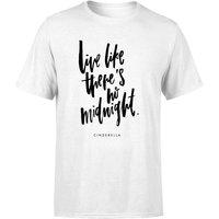 PlanetA444 Live Like There's No Midnight Men's T-Shirt - White - XXL - White