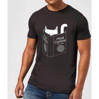 Tobias Fonseca Mind Control for Cats Men's T-Shirt - Black - M - Black