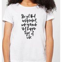 She Got That Independent Vibe Women's T-Shirt - White - 5XL - White