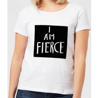 I Am Fierce Women's T-Shirt - White - 5XL - White