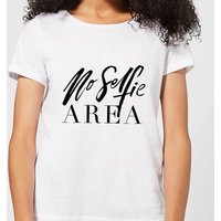 No Selfie Area Women's T-Shirt - White - 3XL - White
